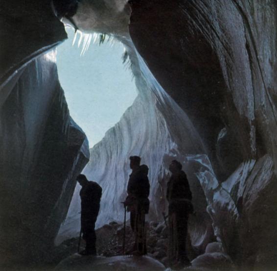1948年夏季,探险人员进入了格陵兰岛的一个洞穴