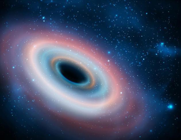 """目前,最新计算表明,一些黑洞可以""""长出毛发"""",但是不能持续太长时间。依据这项最新研究,接近最大旋转速度的黑洞显示出一些独特属性,但是这些特性并未持续多久,最终使得黑洞变得""""光秃秃"""",与其他同类黑洞难以区分。"""
