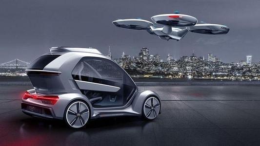 """现代将展出的""""飞行""""汽车"""
