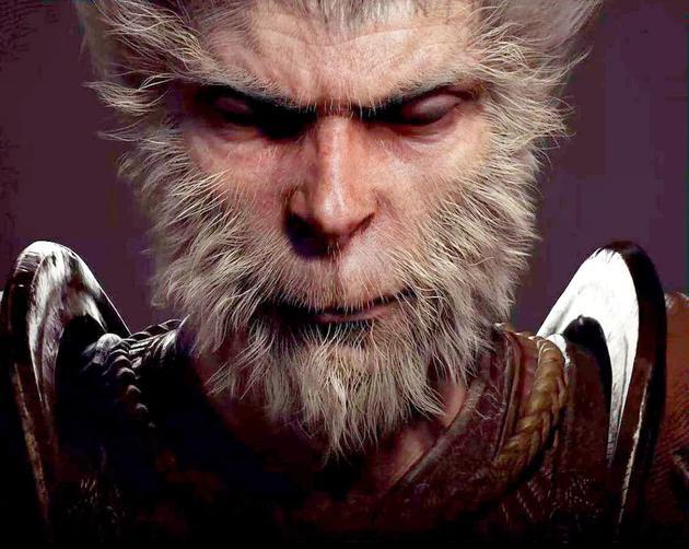 《黑神话:悟空》的游戏画面。