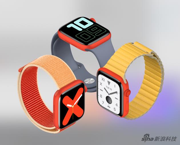 Apple Watch可能在明年推出红色版 可能是铝合金材质