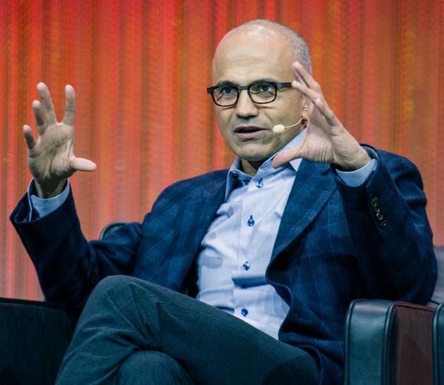 微軟CEO薩提亞·納德拉(Satya Nadella)