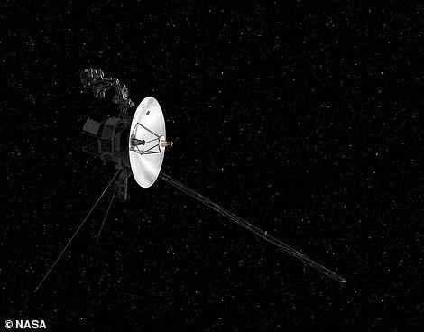 在太空飞走的旅走者飞船,此时现在,旅走者2号与地球之间的距离已经超过180亿公里。