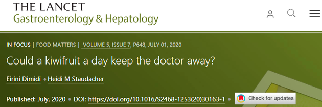 截图来源:The Lancet Gastroenterology and Hepatology