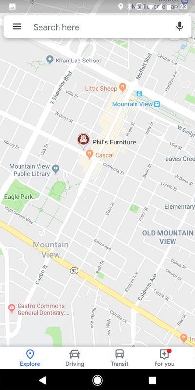 谷歌地图高亮显示赞助商地址