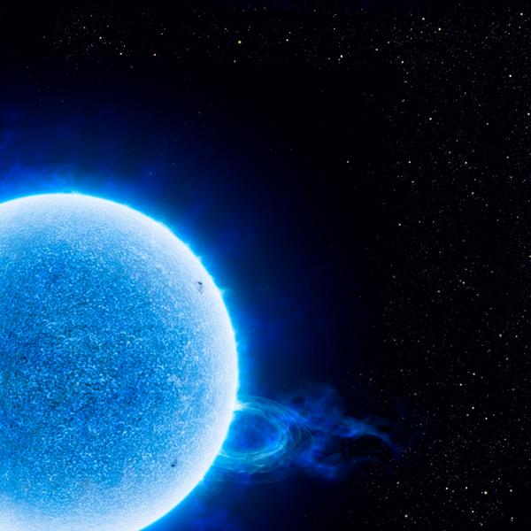 像RMC 136a1这样巨大而明亮的恒星具有极强的恒星风。恒星风是从恒星表面流出的带电粒子流。它们还会发出强烈的紫外线,强到可以对地球表面进行消毒。