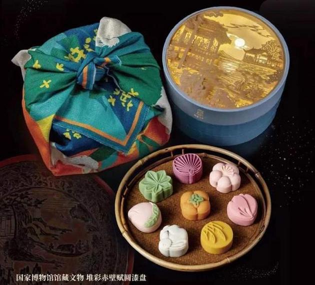 中国国度博物馆将苏轼名作意象融入月饼