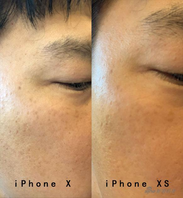 iPhone XS系列加了美颜?只是前置镜头降噪带来的意外效果