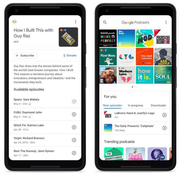 谷歌推出安卓原生播客应用 要把全球听众增加一倍