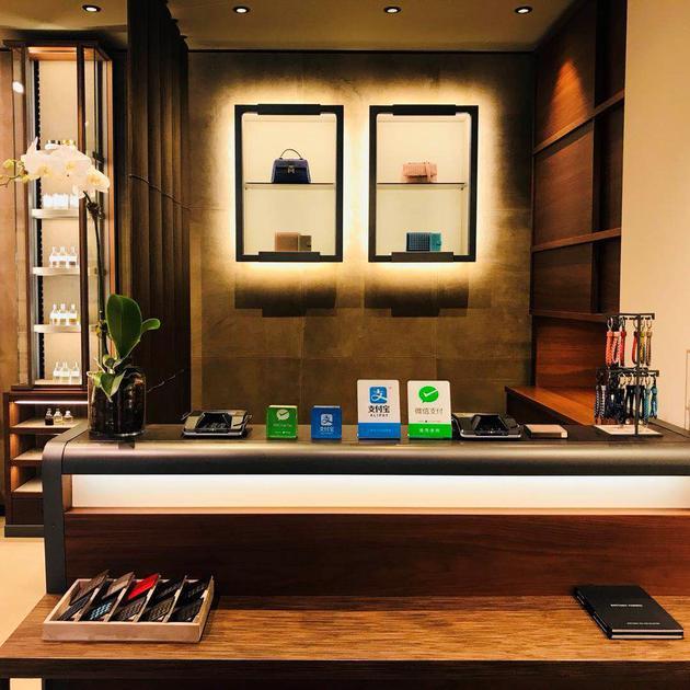一家美国奢侈品商店提供支付宝与微信支付