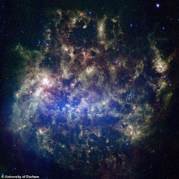 大麦哲伦星云碰撞银河系可能比预期的更早,未来80亿年之后仙女座星系将与银河系发生碰撞。