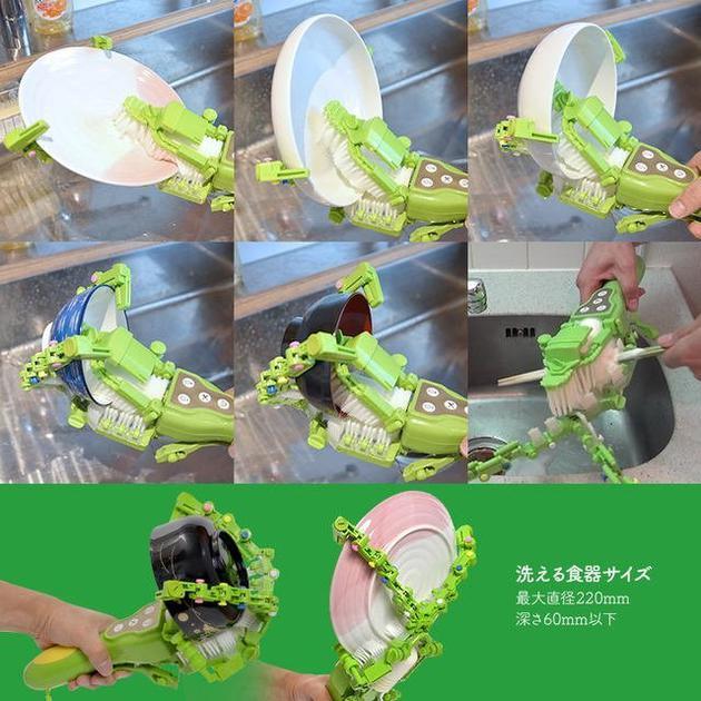 手持洗碗器(图源:odditycentral)