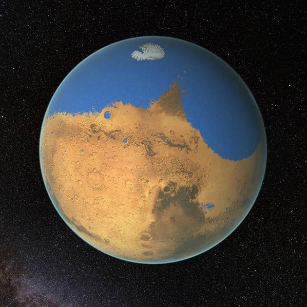 对火星进行地球化改造,可行吗?