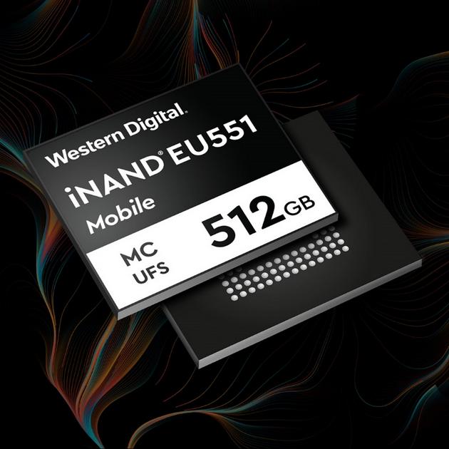 西部数据iNAND MC EU551嵌入式闪存器件