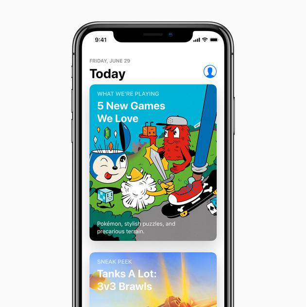 App Store 改版