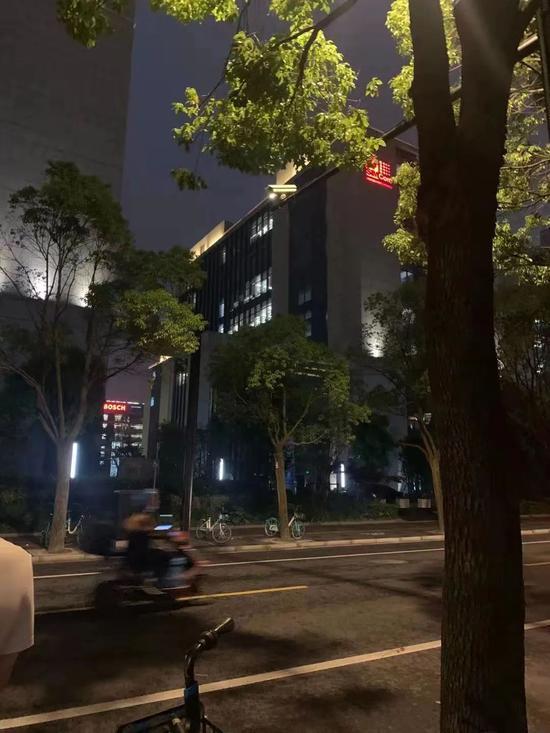 图 | 位于北新泾的互联网企业办公楼