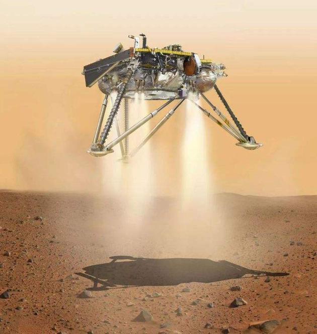 澳门凯旋门赌场网址_超详细解读!洞察号探测器成功降落火星传回首张图像