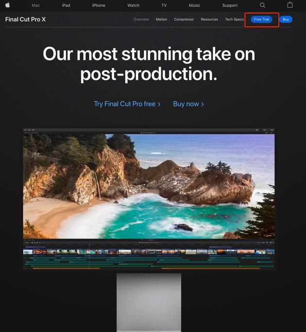 Final Cut Pro X是专业级视频后期软件