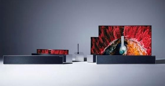 LG卷轴电视机