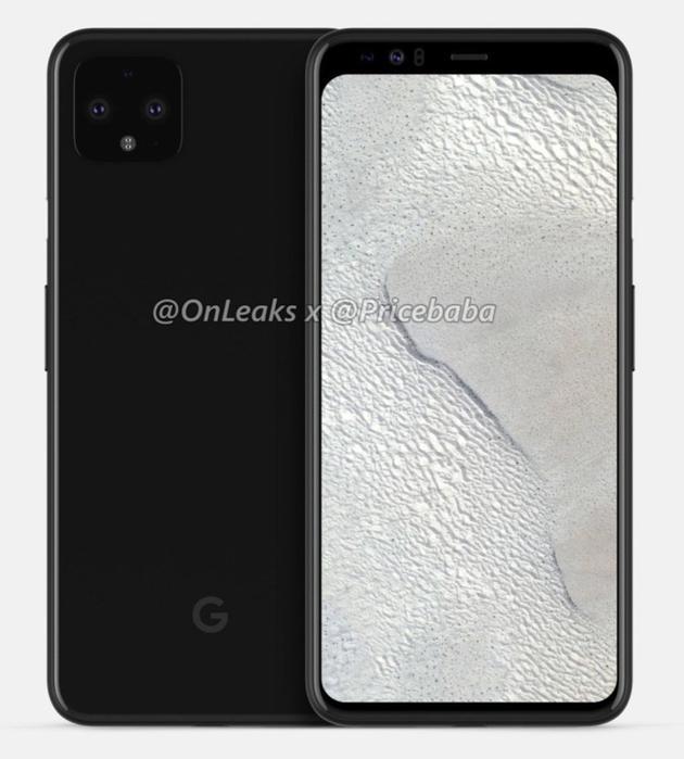 谷歌Pixel 4设计图曝光:顶部有一个神秘的新传感器