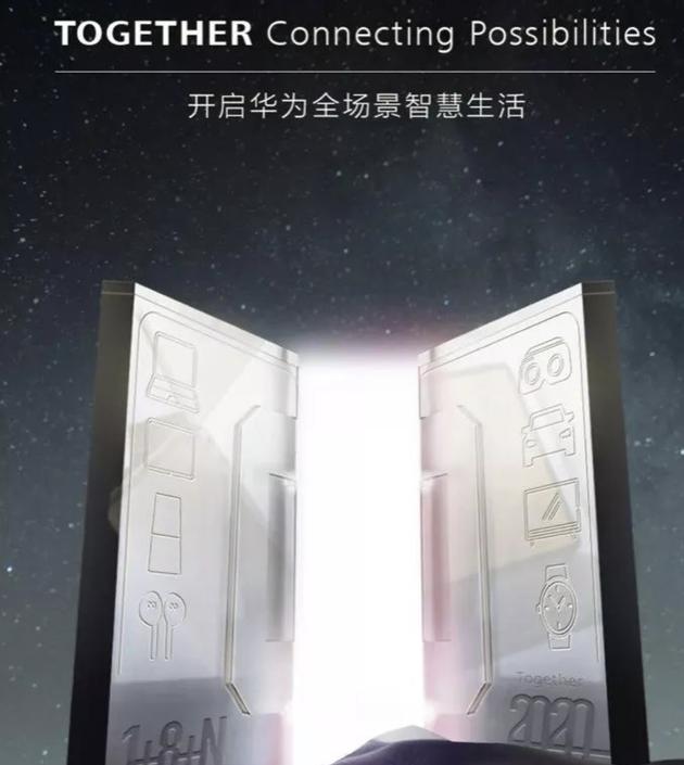 华为MWC预热海报
