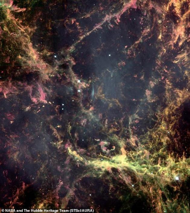 西藏探测设备检测到最高能粒子:蟹状星云距离地球大约6500光年