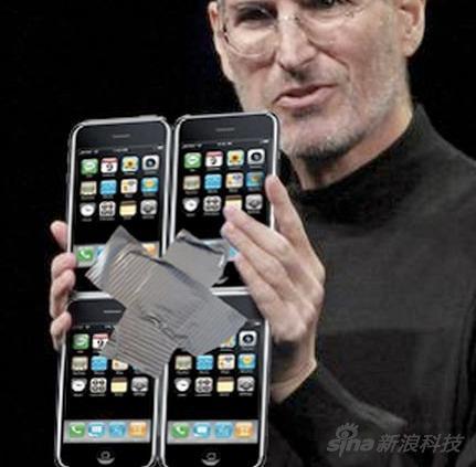 最初iPad一代曾被惡搞是大號iPhone