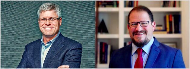 左:史蒂夫·莫伦科夫 右:克里斯蒂亚诺·阿蒙