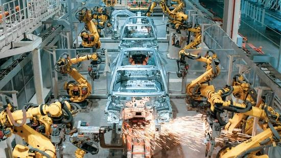 岚图4.0数字工厂