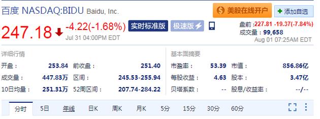 传谷歌计划在中国提供搜索服务 百度美...