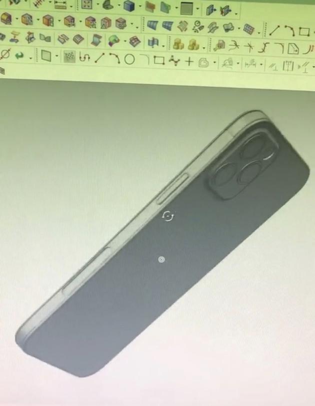 中框神似iPhone 4(图片来自macrumors)