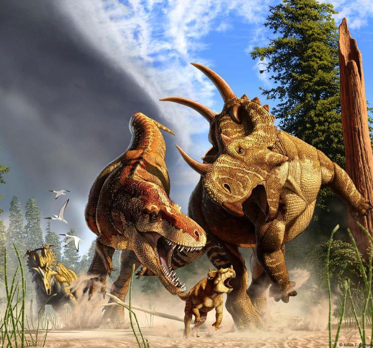 惊了!地球上曾生活过25亿只霸王龙