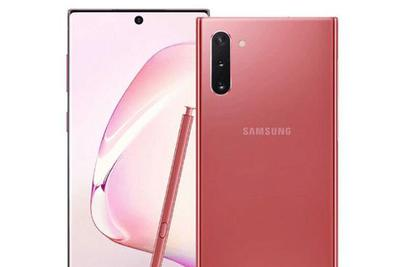 三星Galaxy Note 10全新粉红配色渲染图曝光