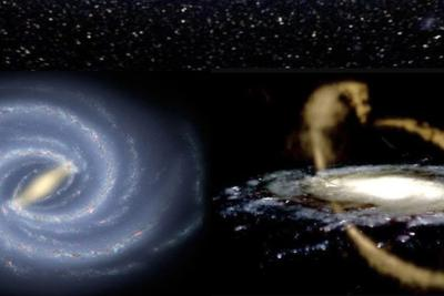 曲终星散终有时 银河系并不安分?