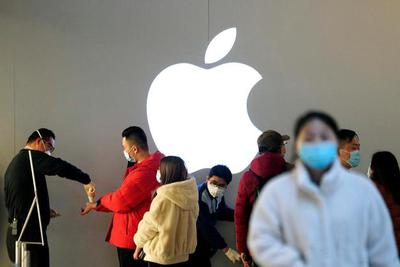 苹果第二财季大中华区营收94.55亿美元 下滑7.4%