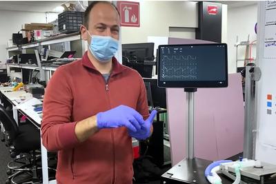 特斯拉展示新型自研呼吸机:与Model 3共用零件