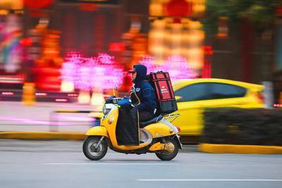 """保护灵活就业者权益给外卖骑手装上""""减压器""""和""""限速阀"""""""