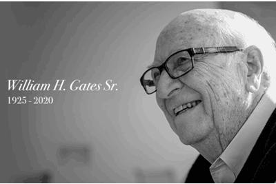 父亲去世 比尔•盖茨发文悼念:他是我想要成为的一切