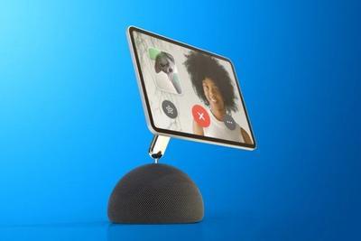 消息称未来苹果HomePod或能通过机械臂连接iPad