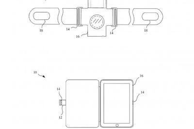 新专利申请显示苹果扩大磁铁在可穿戴表带表壳盖上的使用范围
