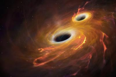 """在宇宙深处,奇特的类黑洞天体可能存在,它们能够重新定义我们所知的物理学定律,最新研究推测称,在未来几年内,地球陆基引力波观测站可能发现这些假设的奇异天体,它们被称为""""奇异致密天体""""。"""