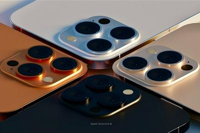 外观定型!iPhone 13 Pro超清渲染图曝光:新配色亮眼