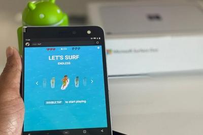 安卓手机已支持玩微软Edge浏览器隐藏冲浪<em>小游戏</em>