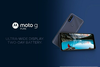 摩托罗拉Moto G Pure手机发布:搭载联发科Helio G25芯片