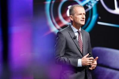 大众汽车CEO请来马斯克发表讲话:强调需要迅速转向电动汽车