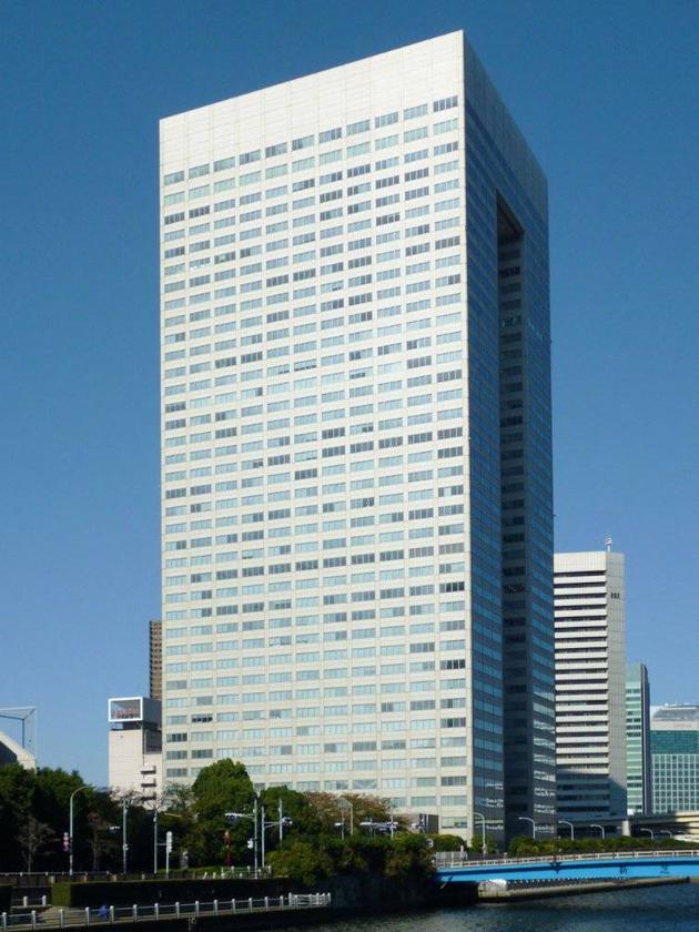東芝總部所在的濱松町大廈。/wiki