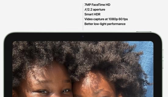 新一代iPad Air配备iPad Pro同款摄像头 还重新设计了扬声器