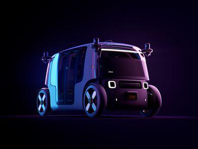 亚马逊子公司Zoox发布全自动驾驶电动车 可双向行使