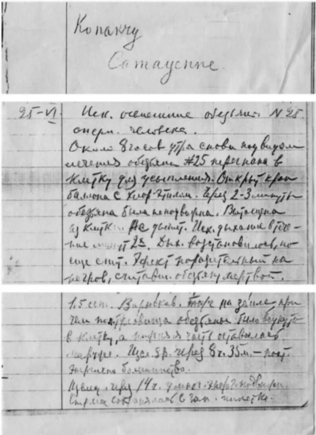 · 伊万诺夫的实验室日记