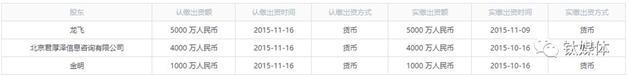 注:2015年末股東情況,公開資料來源:啟信寶